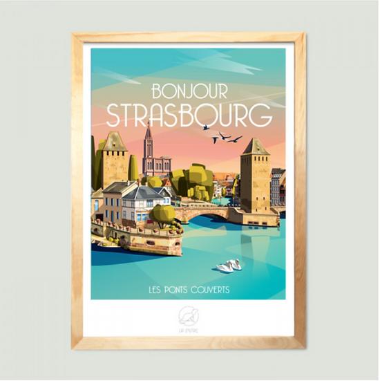 Affiche Strasbourg La Loutre