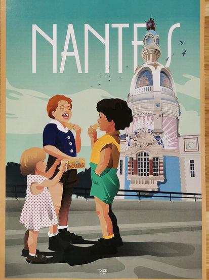 Nantes tour lu enfants