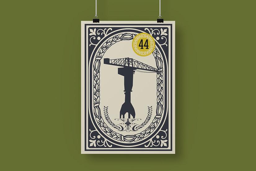 Affiche Grue Titan