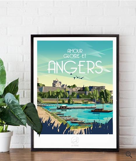 Affiche Angers La Loutre