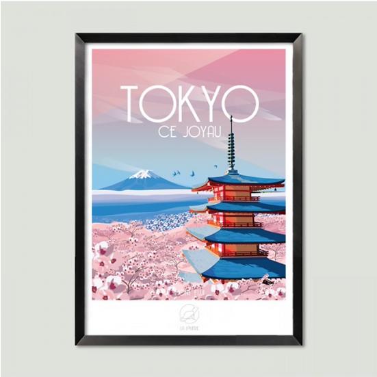 Affiche Tokyo La Loutre