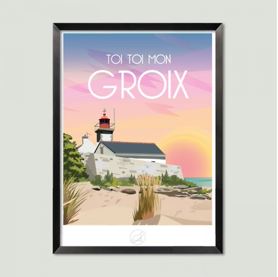 Affiche Groix La Loutre