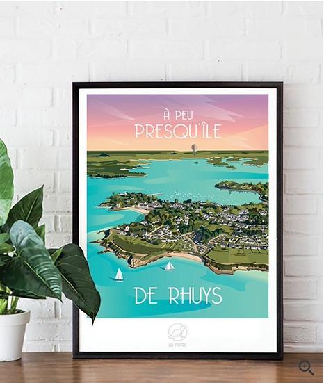 Affiche Rhuys La Loutre