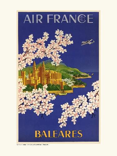 Affiche Baleares