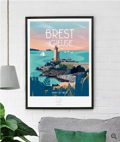 Affiche Brest La Loutre