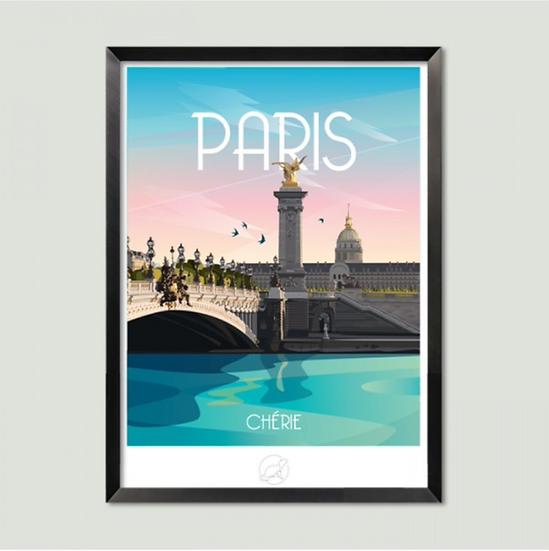 Affiche Paris La Loutre