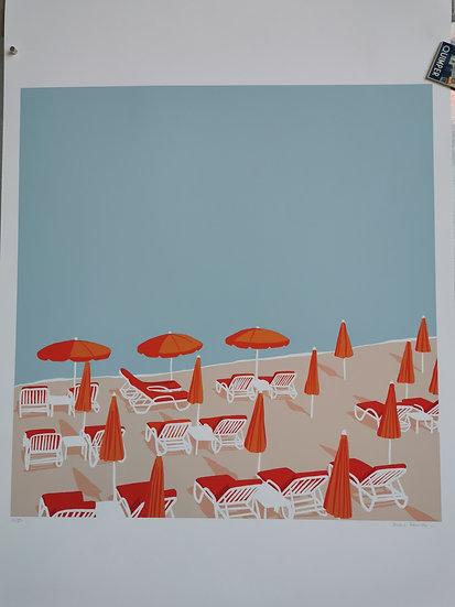 Affiche les parasols