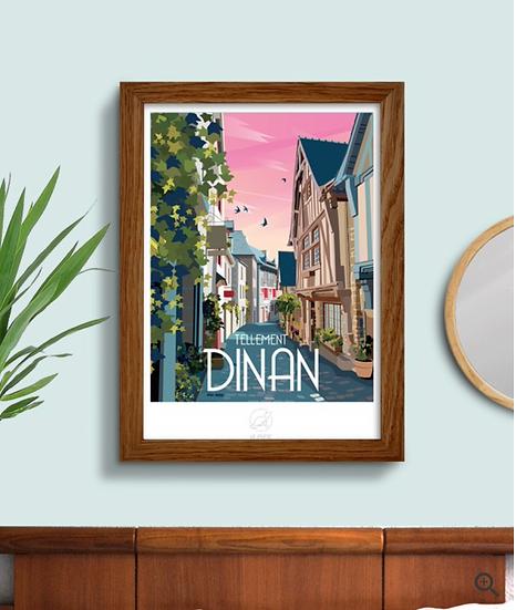 Affiche Dinan La Loutre