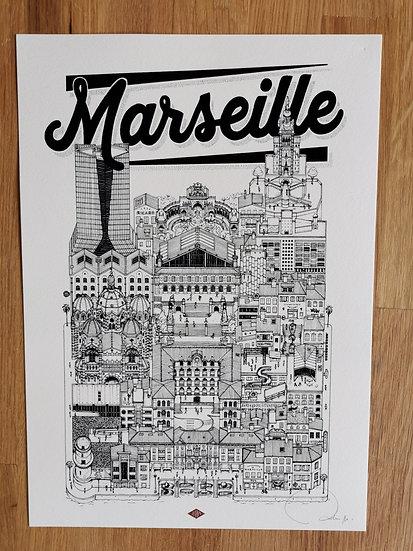 Affiche docteur paper Marseille