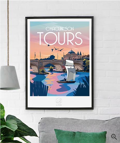 Affiche Tours La Loutre