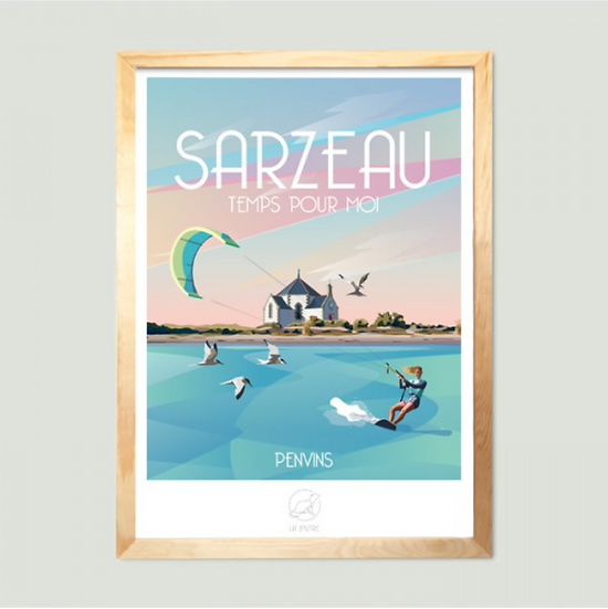 Affiche Sarzeau La Loutre