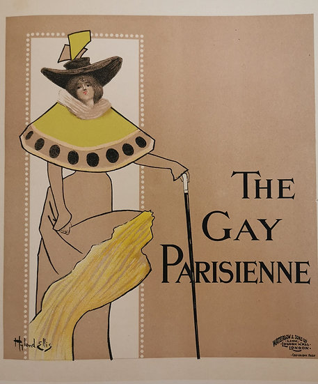 Affiche the gay parisienne