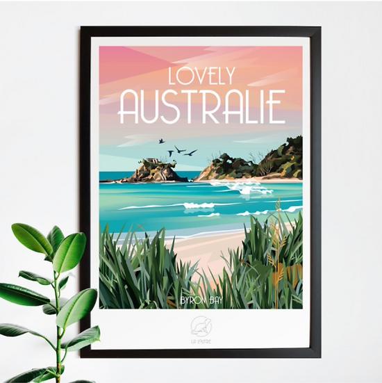 Affiche Australie La Loutre