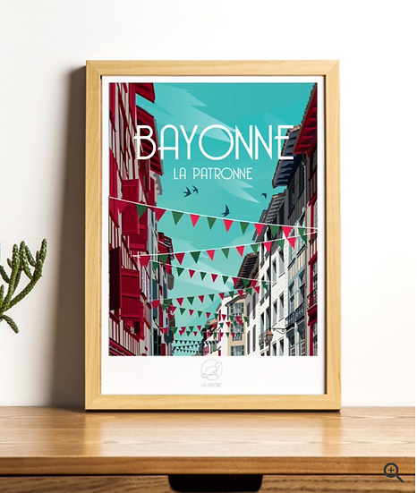 Affiche Bayonne La Loutre