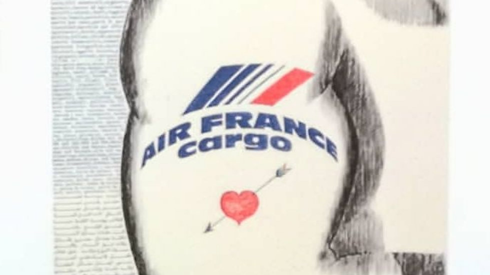 Affiche cargo air France