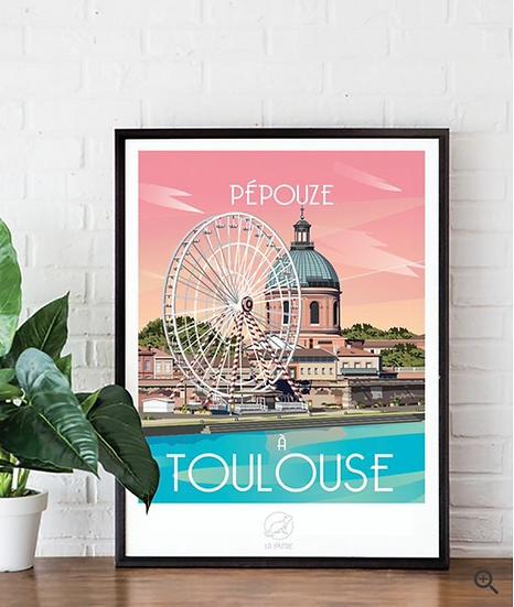 Affiche Toulouse La Loutre