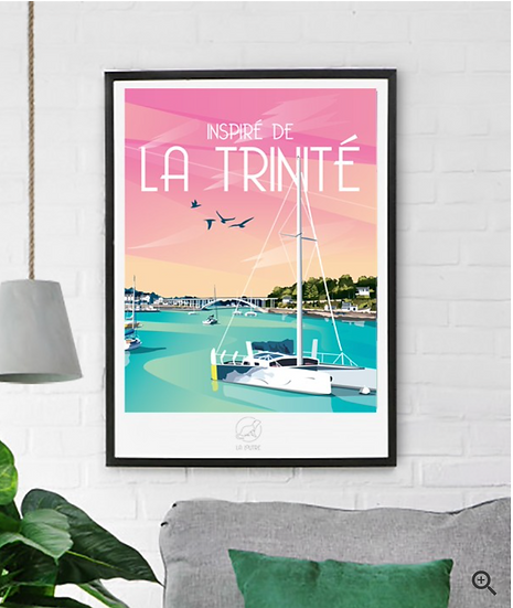 Affiche La Trinité La Loutre