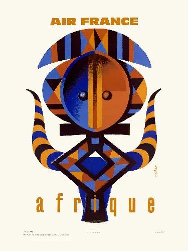 Affiche Afrique