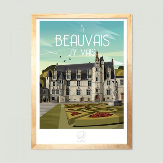 Affiche Beauvais La Loutre