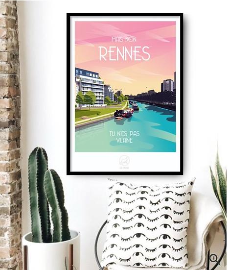 Affiche Rennes La Loutre