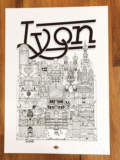 Affiche Lyon docteur paper