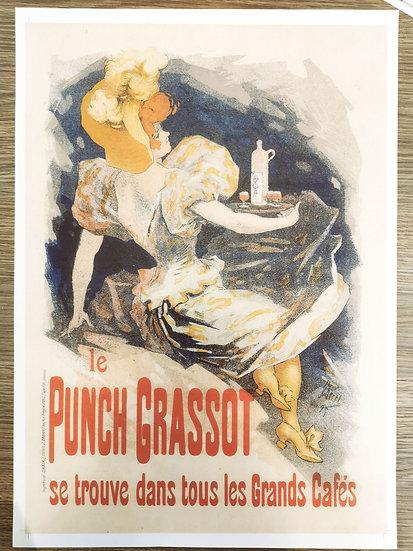 Affiche punch sirupeux