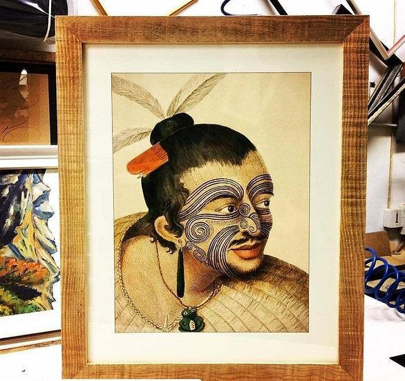 Affiche maori