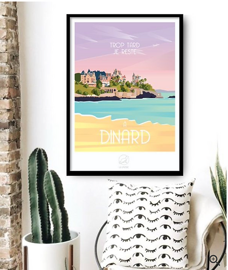 Affiche Dinard La Loutre