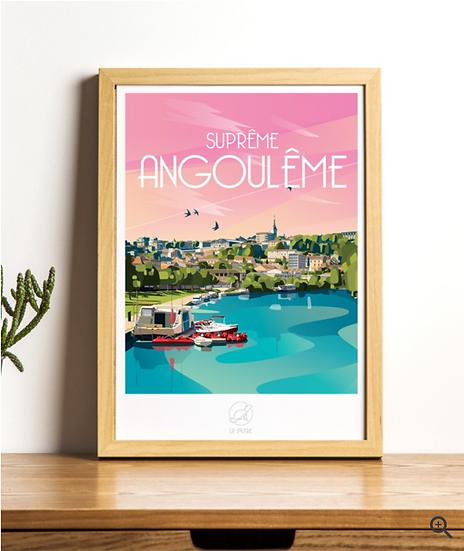 Affiche Angoulême La Loutre