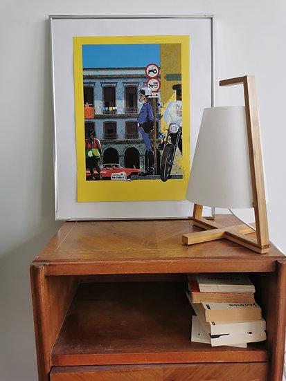 Affiche Cuba police