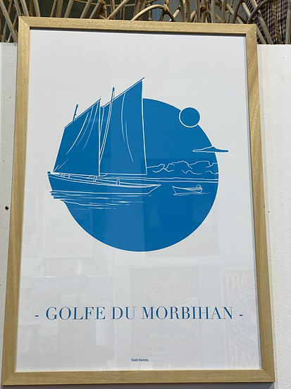 Affiche Golfe du Morbihan