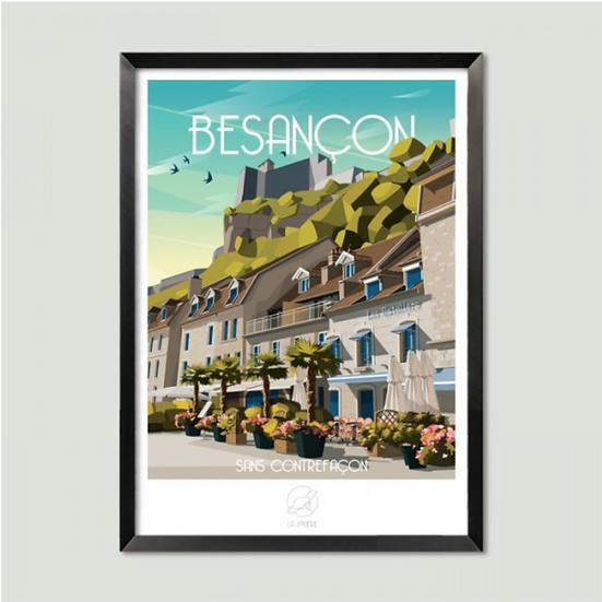 Affiche Besançon La Loutre