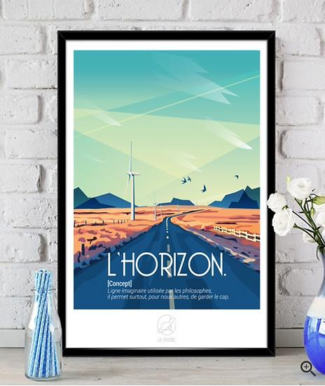 Affiche L'Horizon La Loutre
