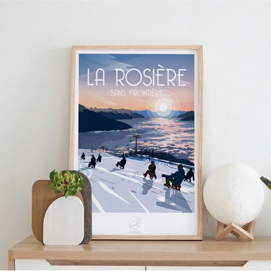Affiche La Rosière La Loutre