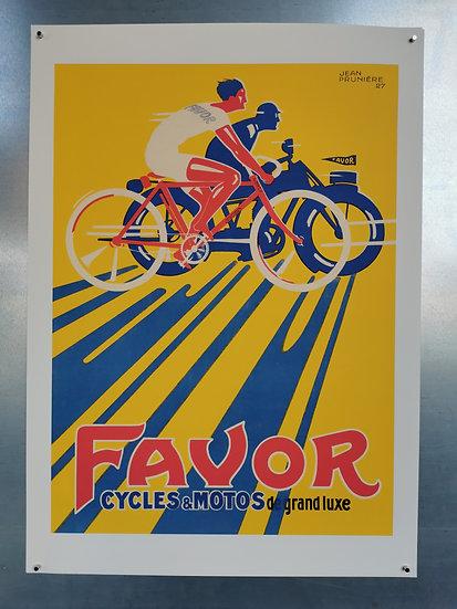 Affiche cycles favor