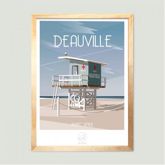 Affiche Deauville La Loutre