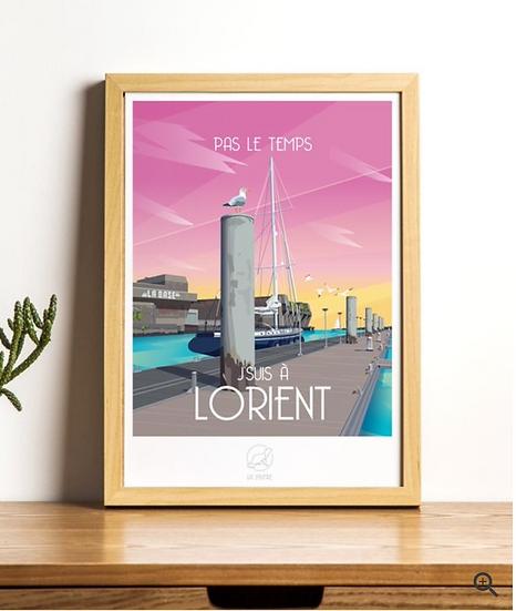 Affiche Lorient La Loutre