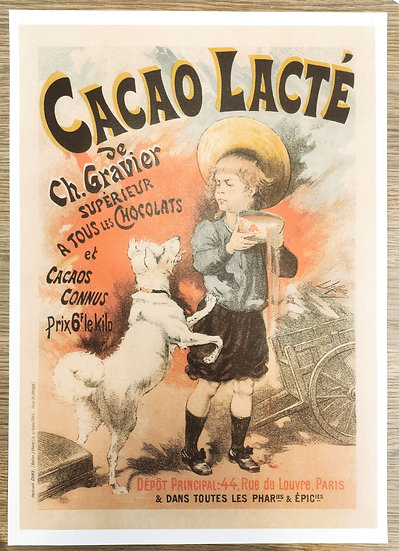 Affiche cacao