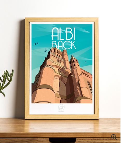 Affiche Albi La Loutre