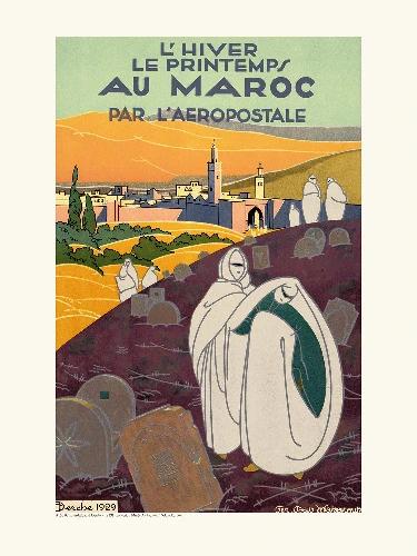 Affiche Maroc