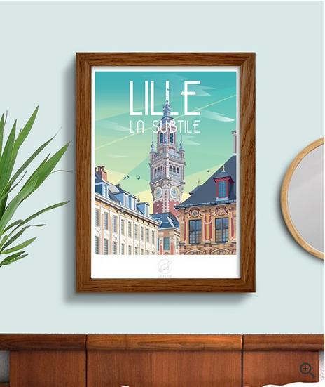 Affiche Lille La Loutre