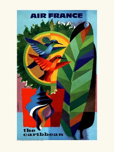 Affiche The Caraibes