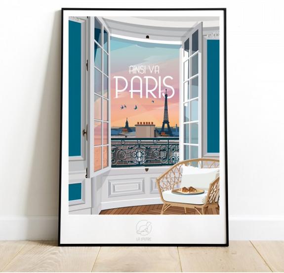Affiche Ainsi va Paris La Loutre