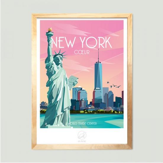 Affiche New York La Loutre