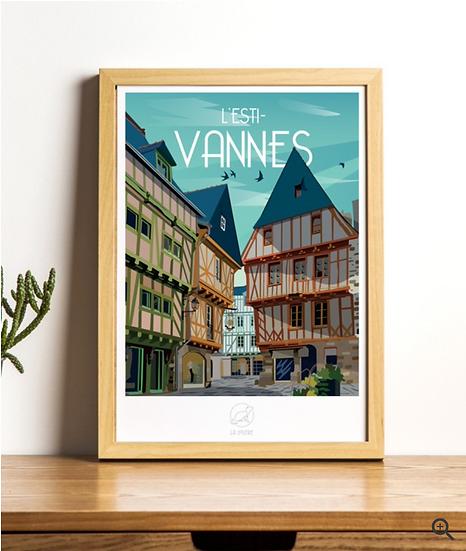 Affiche Vannes La Loutre