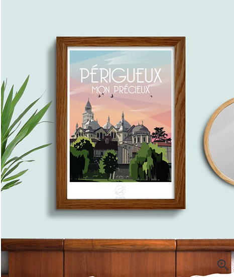Affiche Périgueux La Loutre