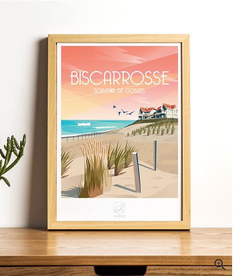 Affiche Biscarrosse La Loutre