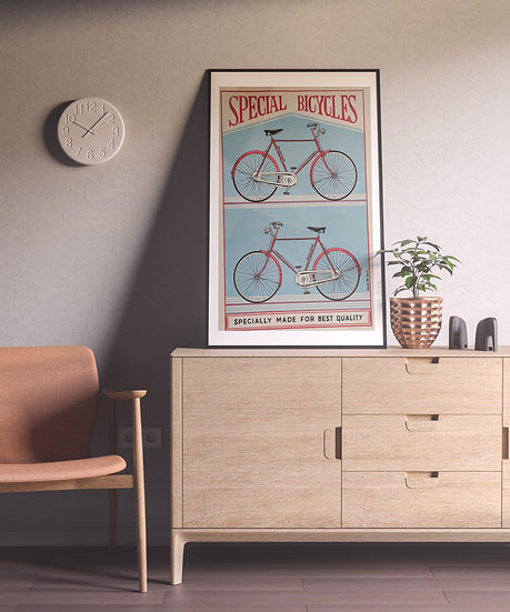 Affiche Bicycle vintage