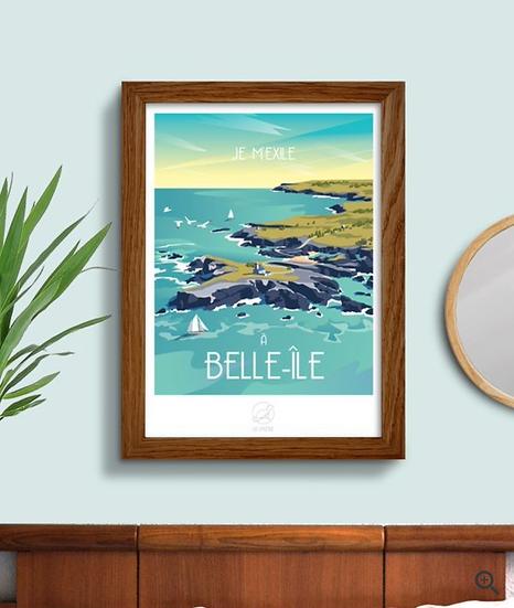 Affiche Belle-île La Loutre