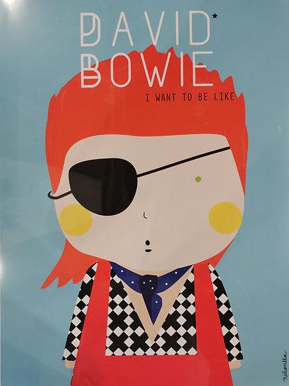 Affiche Bowie
